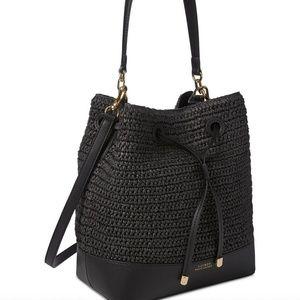 Ralph Lauren Dryden Debby Drawstring Leather Bag